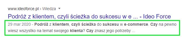 przykład description, Ideo Force