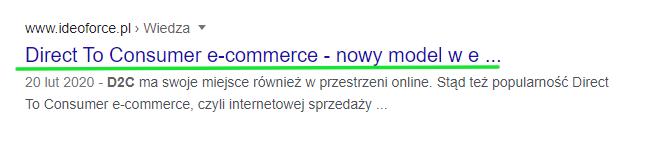 przykład title, Ideo Force