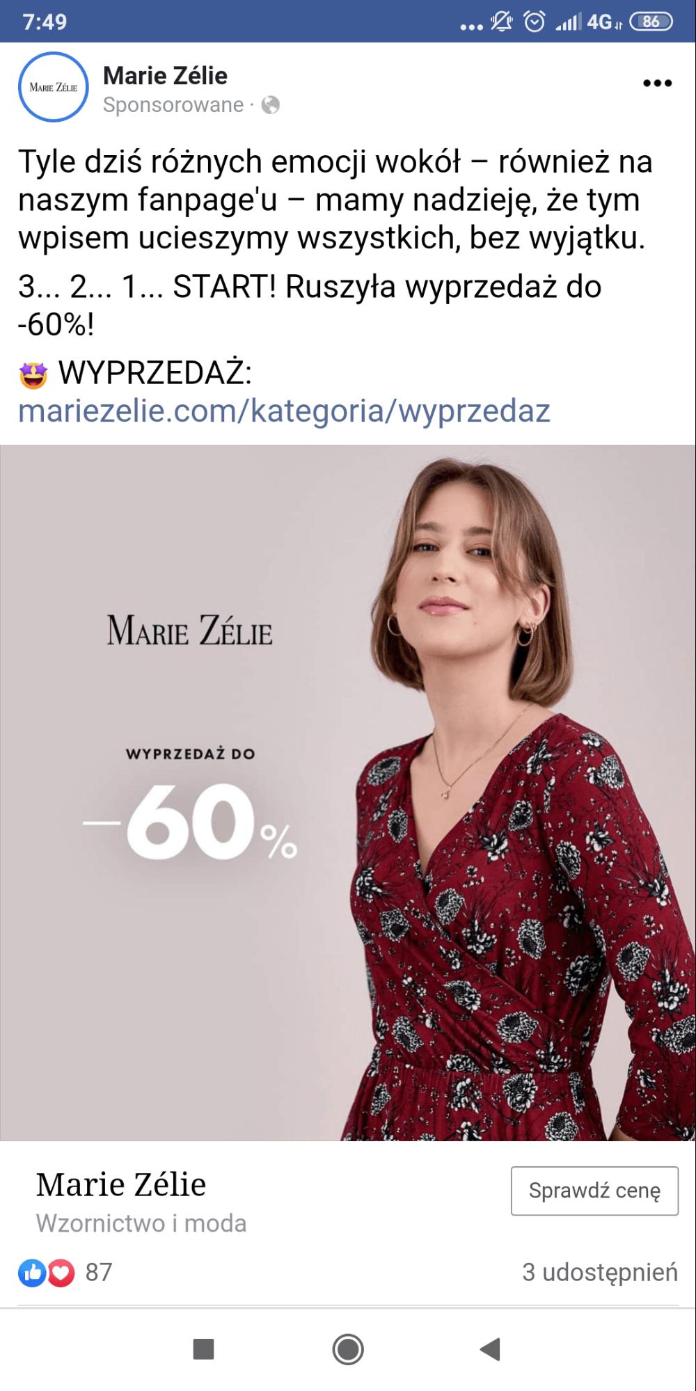 marketing internetowy na FB