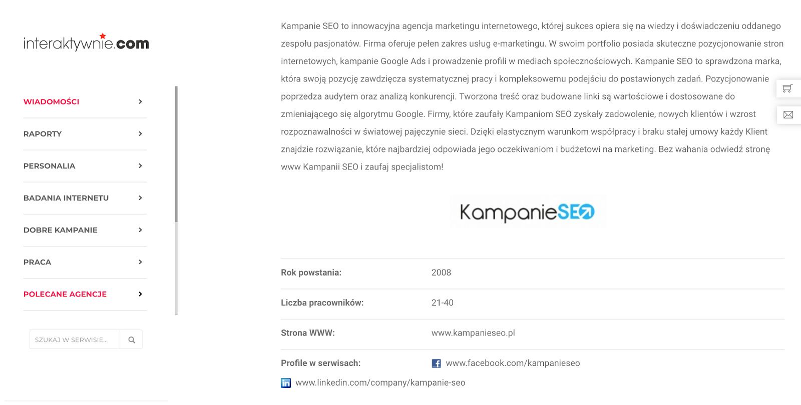 wpis do katalogu interaktywnie.com firmy KS