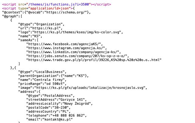 przykład kodu schema.org