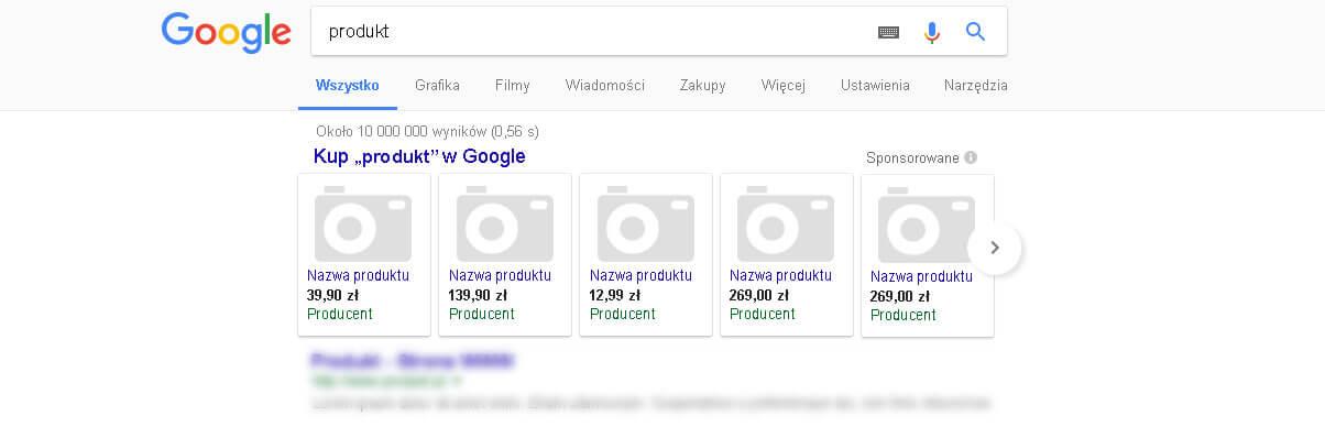 Zakupy Google Merchant Center
